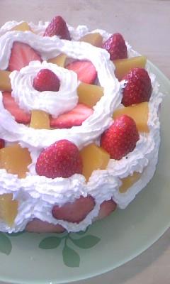 バレンタインケーキ♪